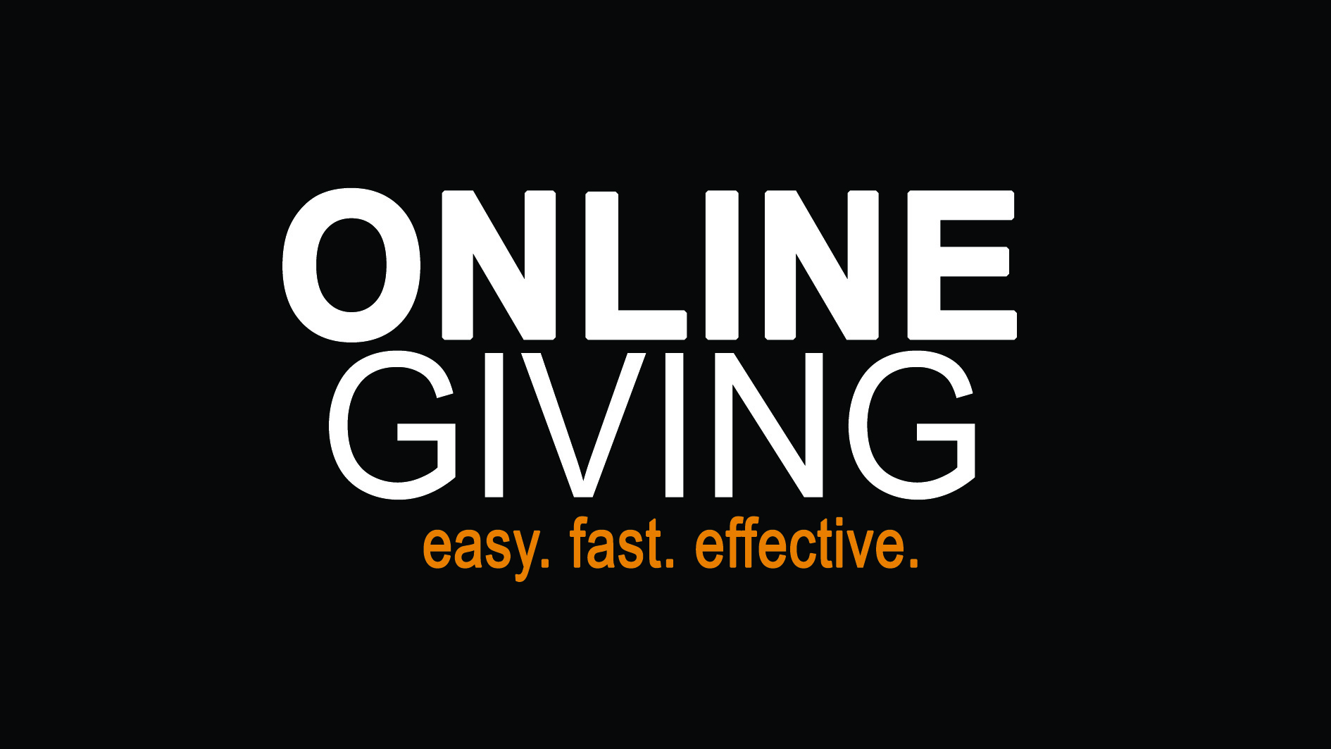 Click on the picture above to give online or set up an automatic regular tithe.
