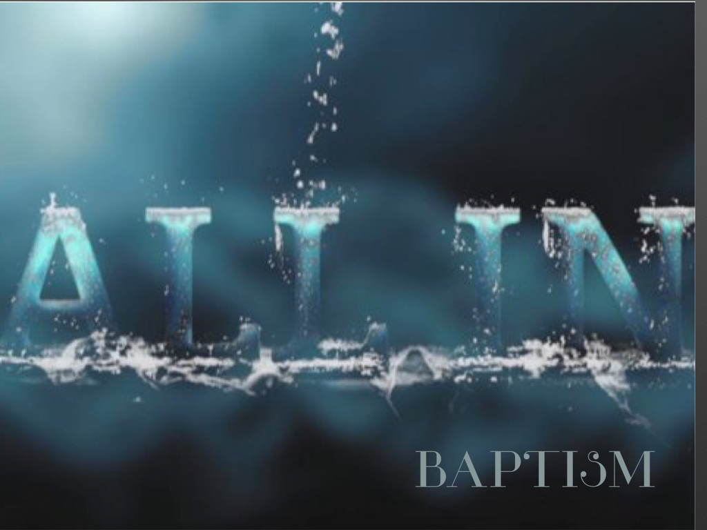 Baptism is a wonderful, mysterious, and significant part of a Christian's journey with Jesus. There are many different beliefs, practices, and teachings on the subject of baptism. This message summarizes Vanchurch's perspective on this important issue.