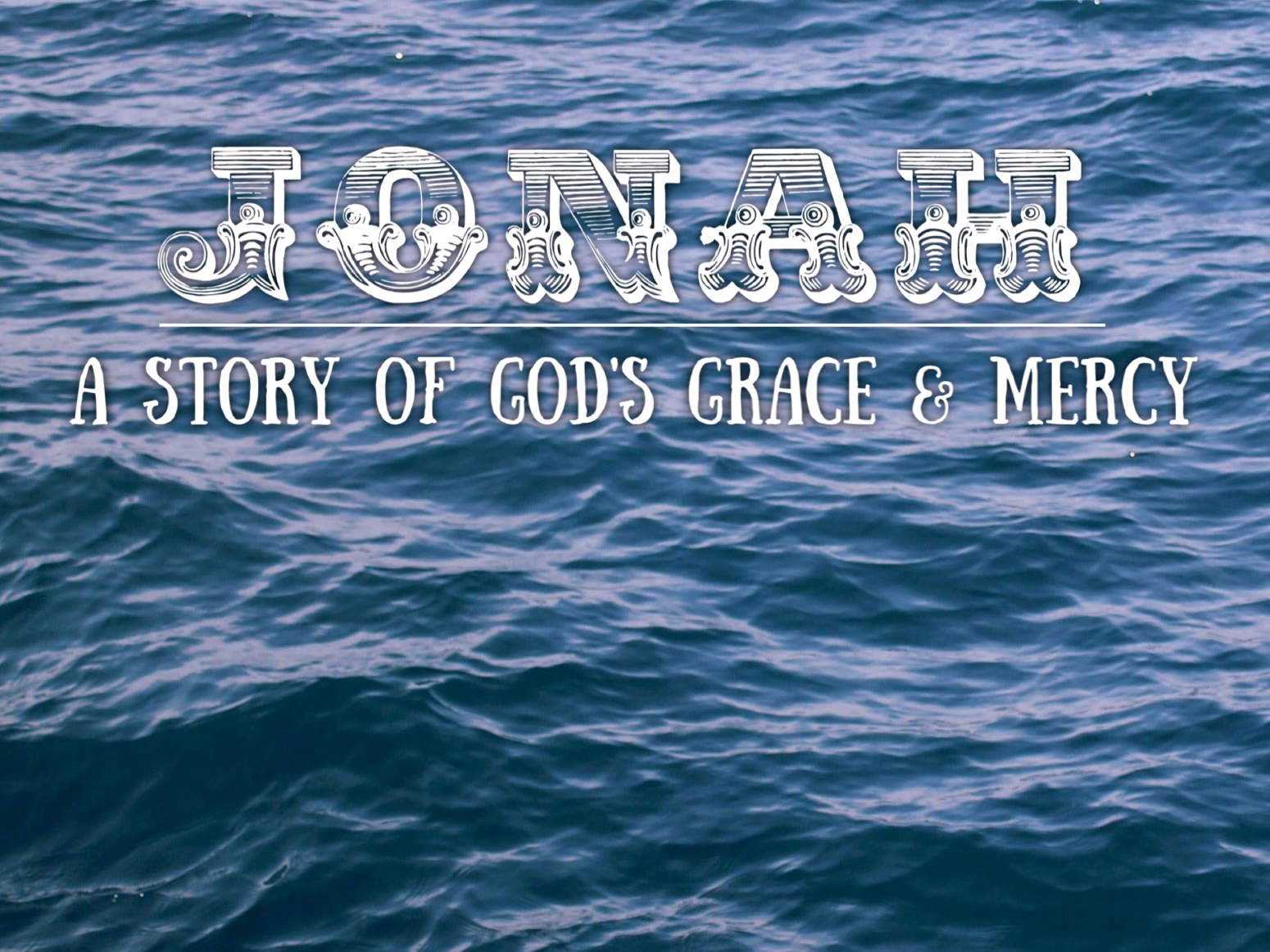 Gentry Morris' Series on Jonah