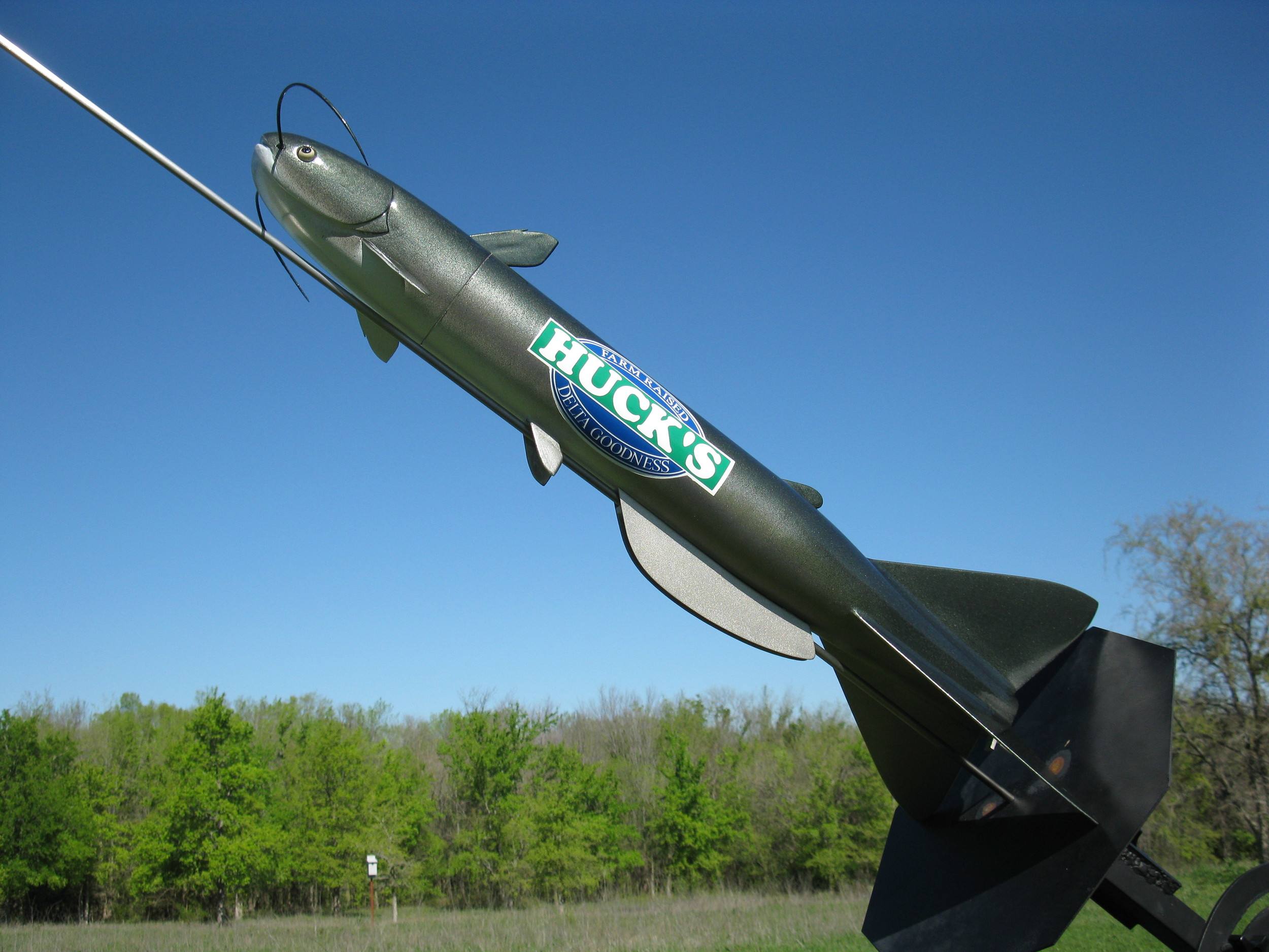 Custom Built Rockets for Advertising