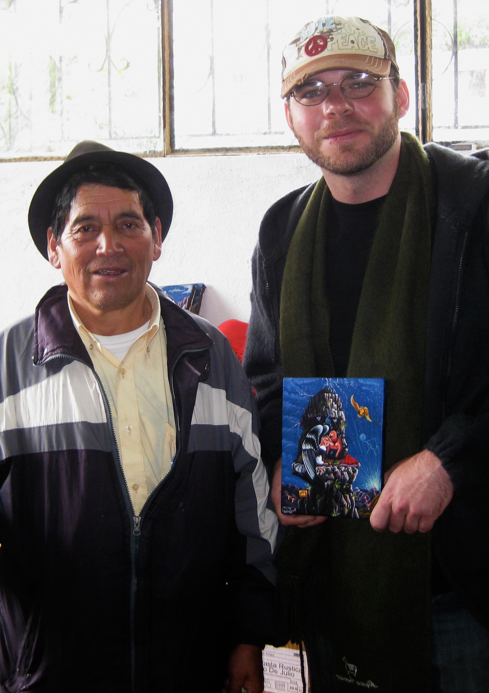 Julio Toaquiza & Jason Williamson