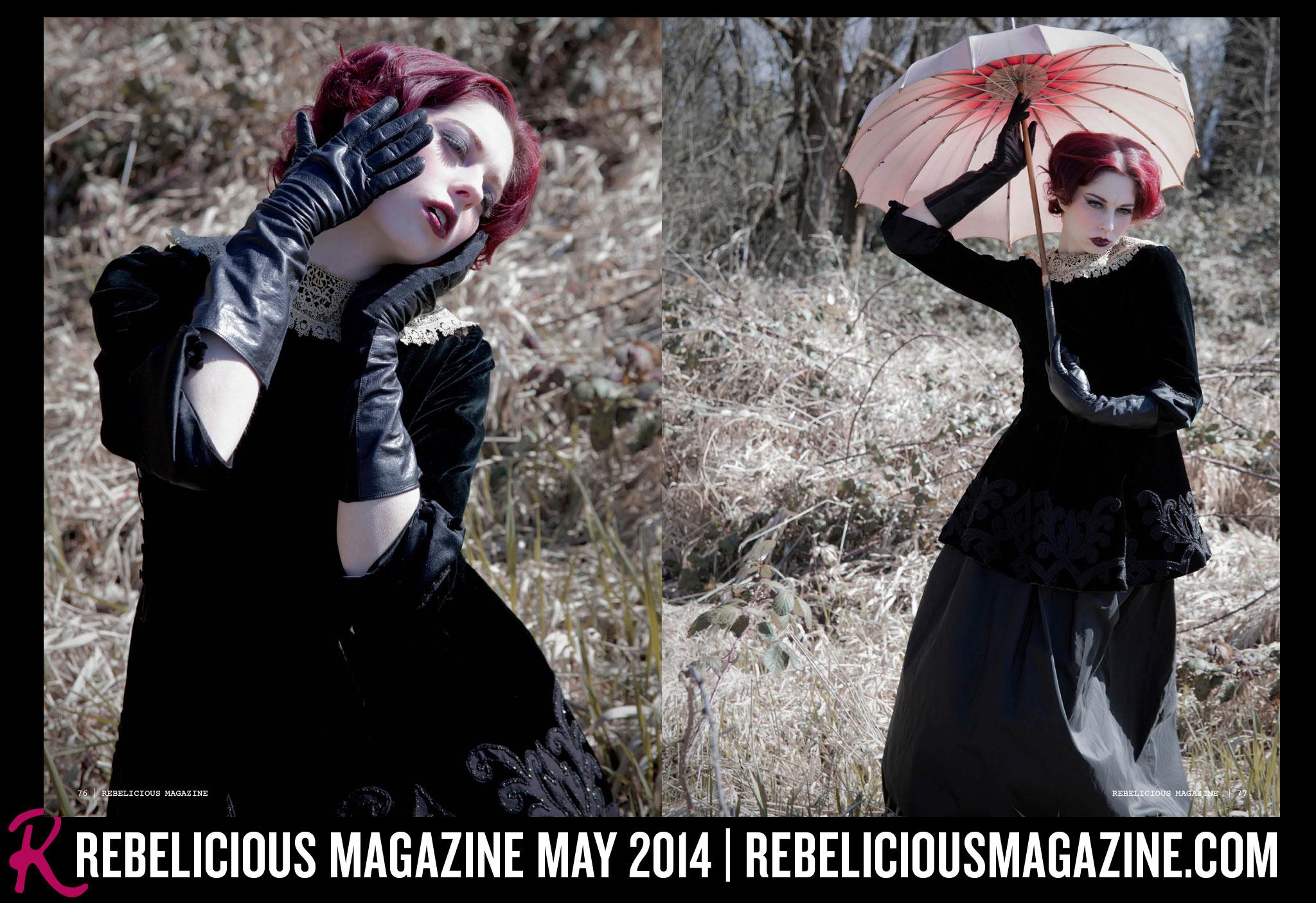 Rebelicious Magazine + Visioluxus