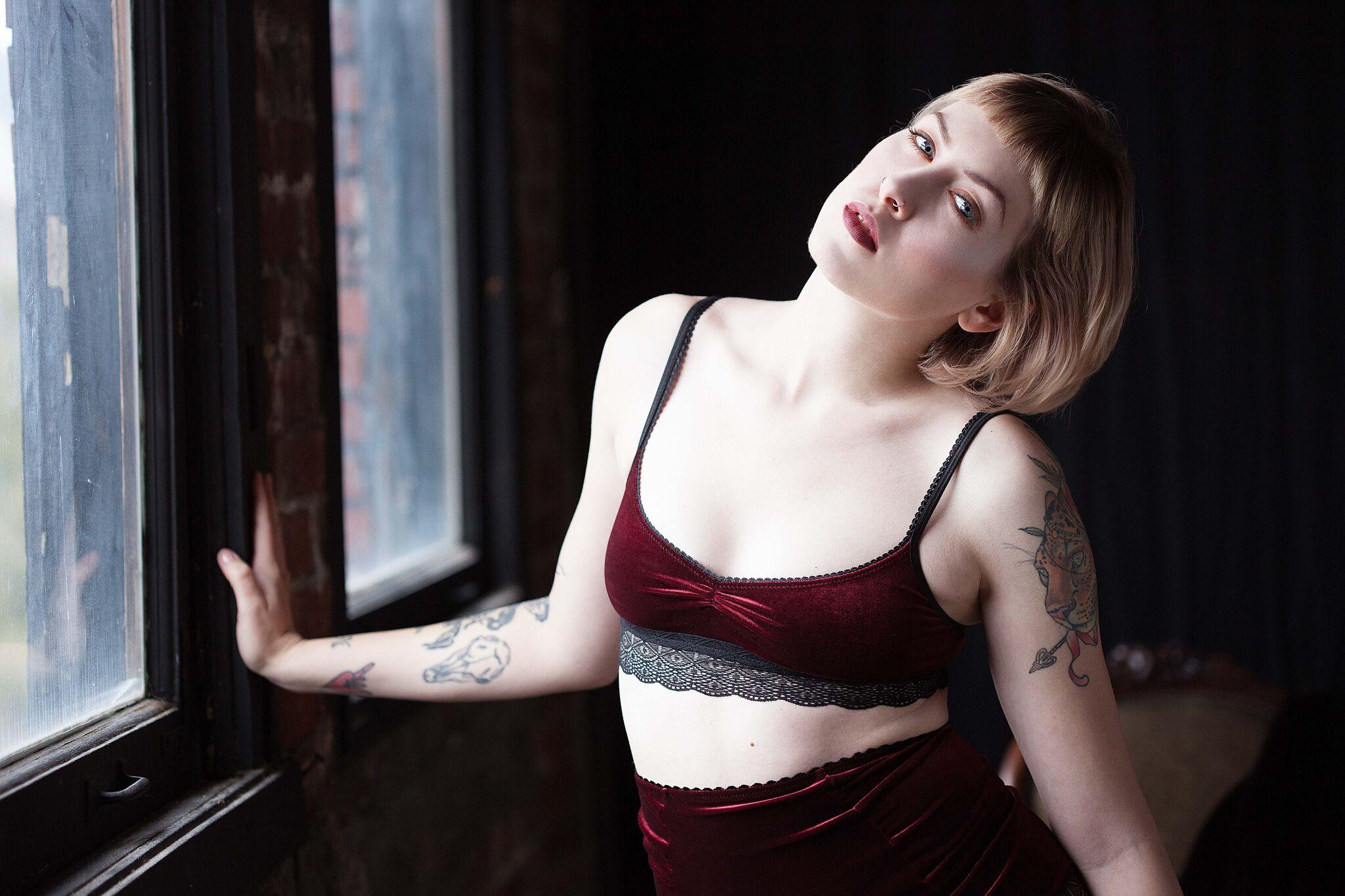 Sarah  Lingerie:   Vava Lingerie    Photographer:   Holly Seeber Photography