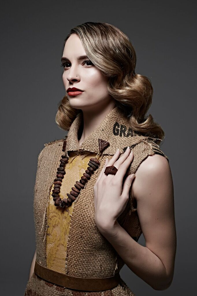 Styling:   Michelle Lesniak    Photographer:   Kevin Focht    Chocolate:   Woodblock Chocolate    Jewelry:   Sticks & Stones PDX    Hair:   Sarah Adams