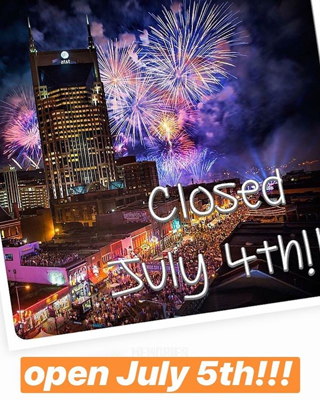 See y'all on Friday! #july4th #freedomday - - #kolachesarekool #everythinggoodrisesintheeast #eatmoretacos #breakfast #bakery #kolaches #eastnashville #nashville #kolache #drewsbrew #meyerssausage #kingarthurflour #sirgalahadartisanflour