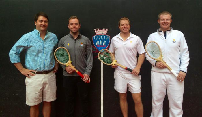Sean Quinn with Ben Taylor-Matthews, Camden Riviere, and Chris Chapman