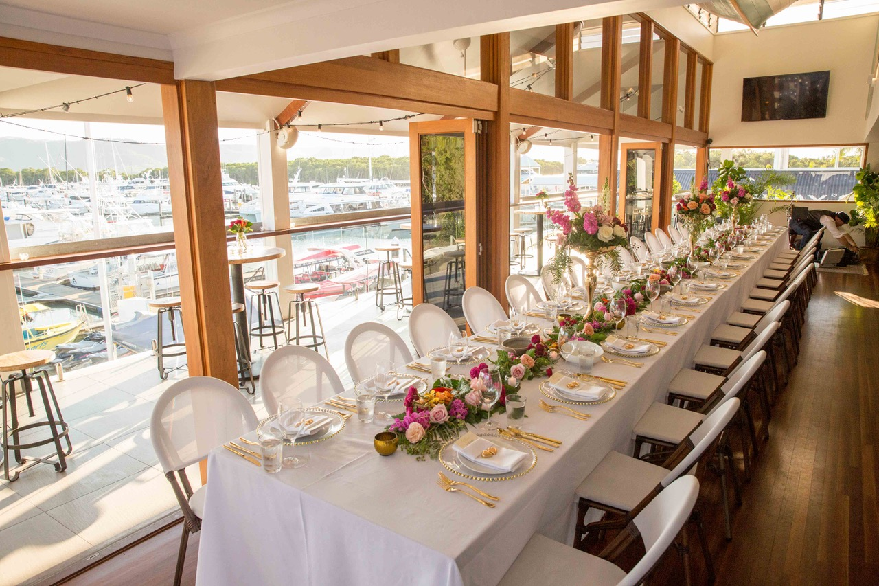Hemingways P.D. - Hemingways Brewery is located in Crystalbrook Marina, overlooking the array of boats coming and going. This beautiful venue is modern and designed for comfort and relaxation for your next event.