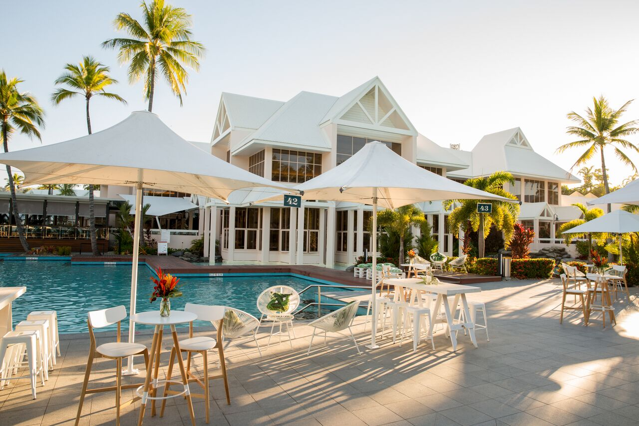 Sheraton Grand P.D. - Beautiful, timeless and newly renovated, the Sheraton Grand Port Douglas is like no other experience in town. With multiple event locations to offer, you will never be short of choice!