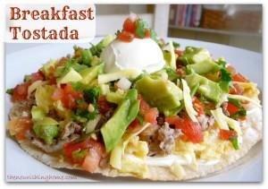 Breakfast-Tostada