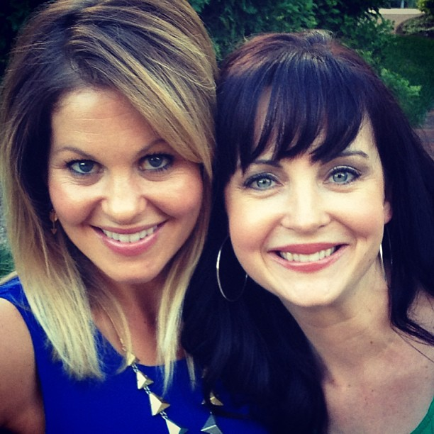 How Does She Do It All?? {Candace Cameron Bure with Ruth Schwenk }