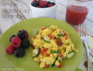 Veggie Egg Scramble How to Make Perfect Scrambled Eggs