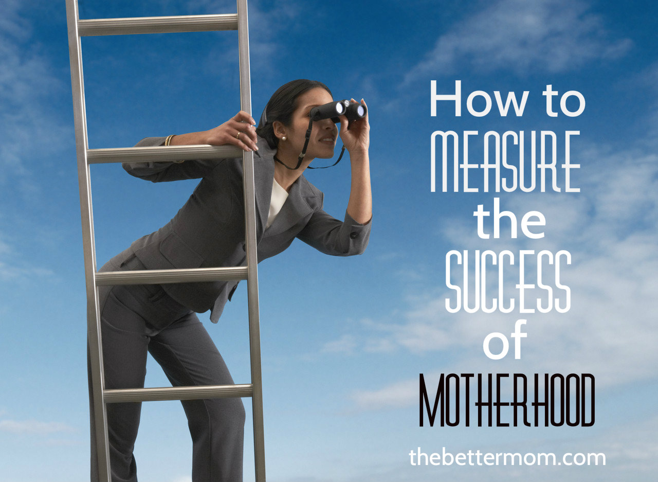 How to Measure the Success of Motherhood