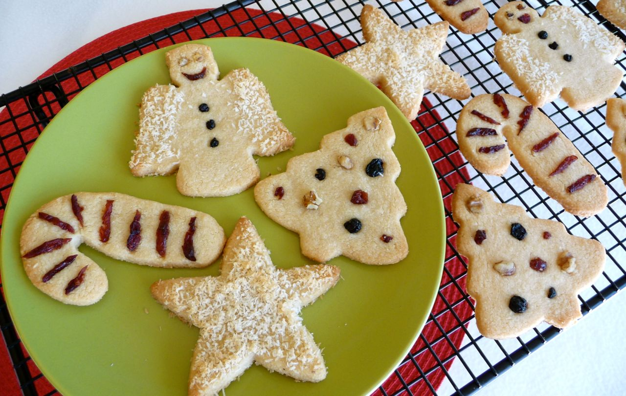 These scrumptious  Almond Flour Christmas Cookie Cut-Outs  are perfect forenjoying the fun holiday tradition of decorating cookies without the gluten or the guilt, since they're made with wholesome real food ingredients. Merry Christmas and Happy New Year!
