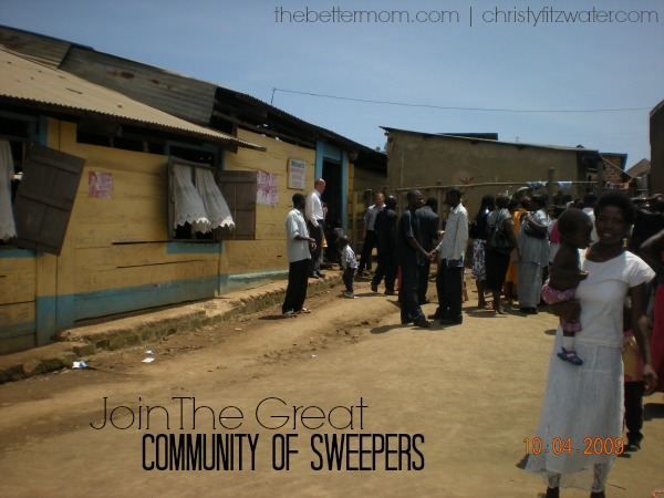 Join The Great Community of Sweepers  -thebettermom.com | christyfitzwater.com