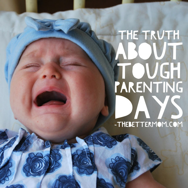 Those hard days full of spills and whining and every moment passing by with unmet expectations? Every mom has them! And you know what? They have nothing to do with your identity as a mom- here's what really defines you.