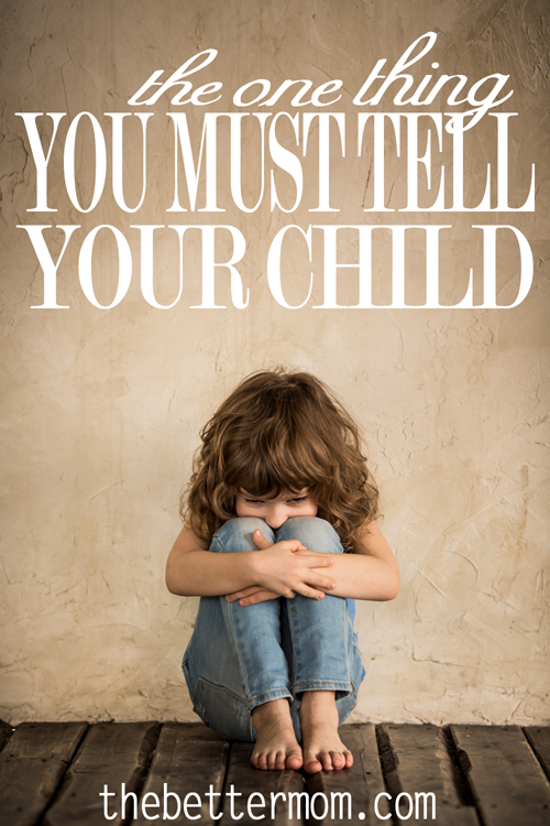 Moms: There is one very important thing you must tell your child. When was the last time you told your child these soul-healing words. Your parenting is not complete until you let your child know how much you love them unconditionally.