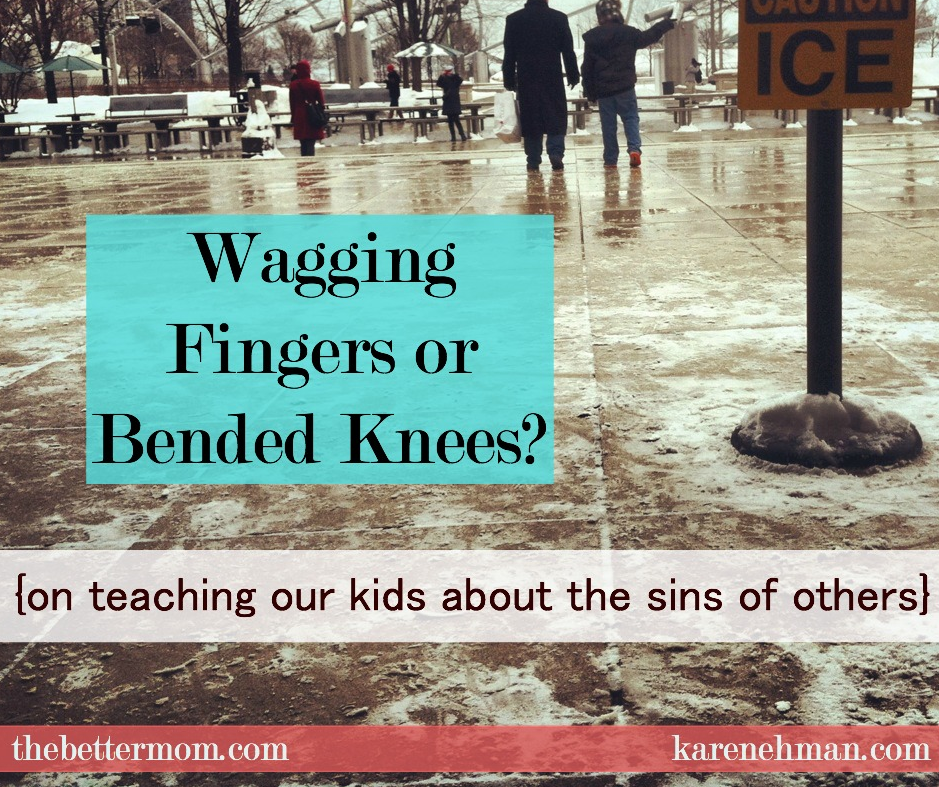What do you tell your children when they witness the sin of others? What should our reaction be? Let's look together at how Jesus handled this very thing.
