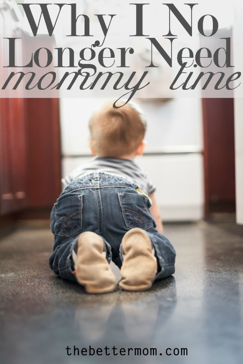 """When you look back in years to come, will you remember delighting in """"mommy time"""" or delighting in your children? We're sharing about how to redefine the """"needs"""" in our lives to make way for heaven to rule our hearts today on the blog."""