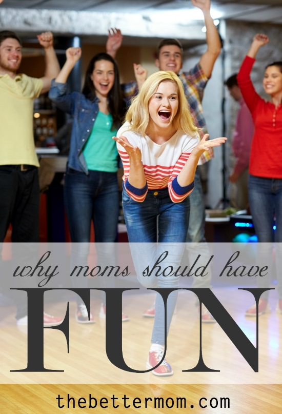 How do you have fun? Tapping into our talents, or taking on the challenge to learn something new, is often just what a mom needs to be refreshed!