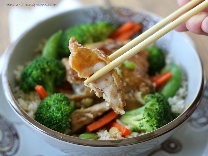 This delicious  Slow Cooker Chicken Teriyaki  withveggies is a classic meal your whole family will enjoy down to the last bite.