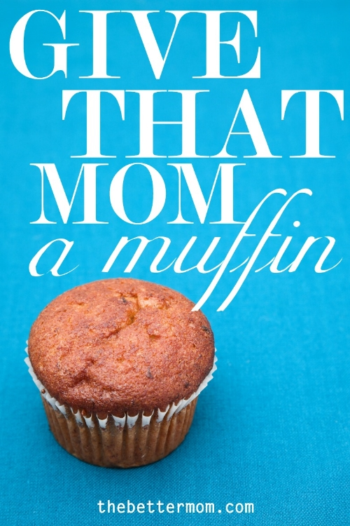 Know a mom who is struggling? Maybe a sweet treat would brighten her day!  It's often the little things that shower love and friendship.