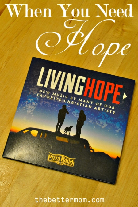 Some days we really just need to hang on to hope. We need to remember His promises and the truth of His word and simply cling to Him. Living Hope is a beautiful compilation of music to help you do just that.