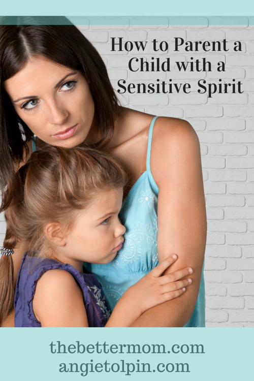 Do you have a sensitive child? What a gift! Take time today to thank God for their discerning spirit and learn how to parent with wisdom, when you encounter things that overwhelm them.