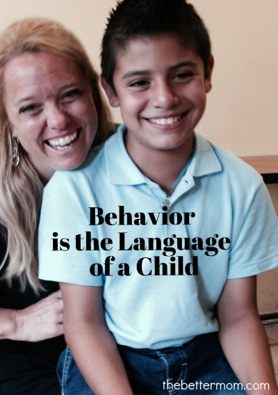 What is your child trying to tell you? Their behavior can be an excellent clue! Don't forget this special way of listening to understand and draw near to your babes!
