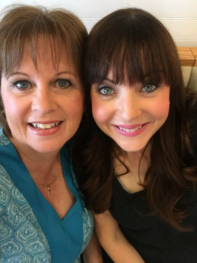 My co-author, Karen Ehman and I... we have had such a blast together!