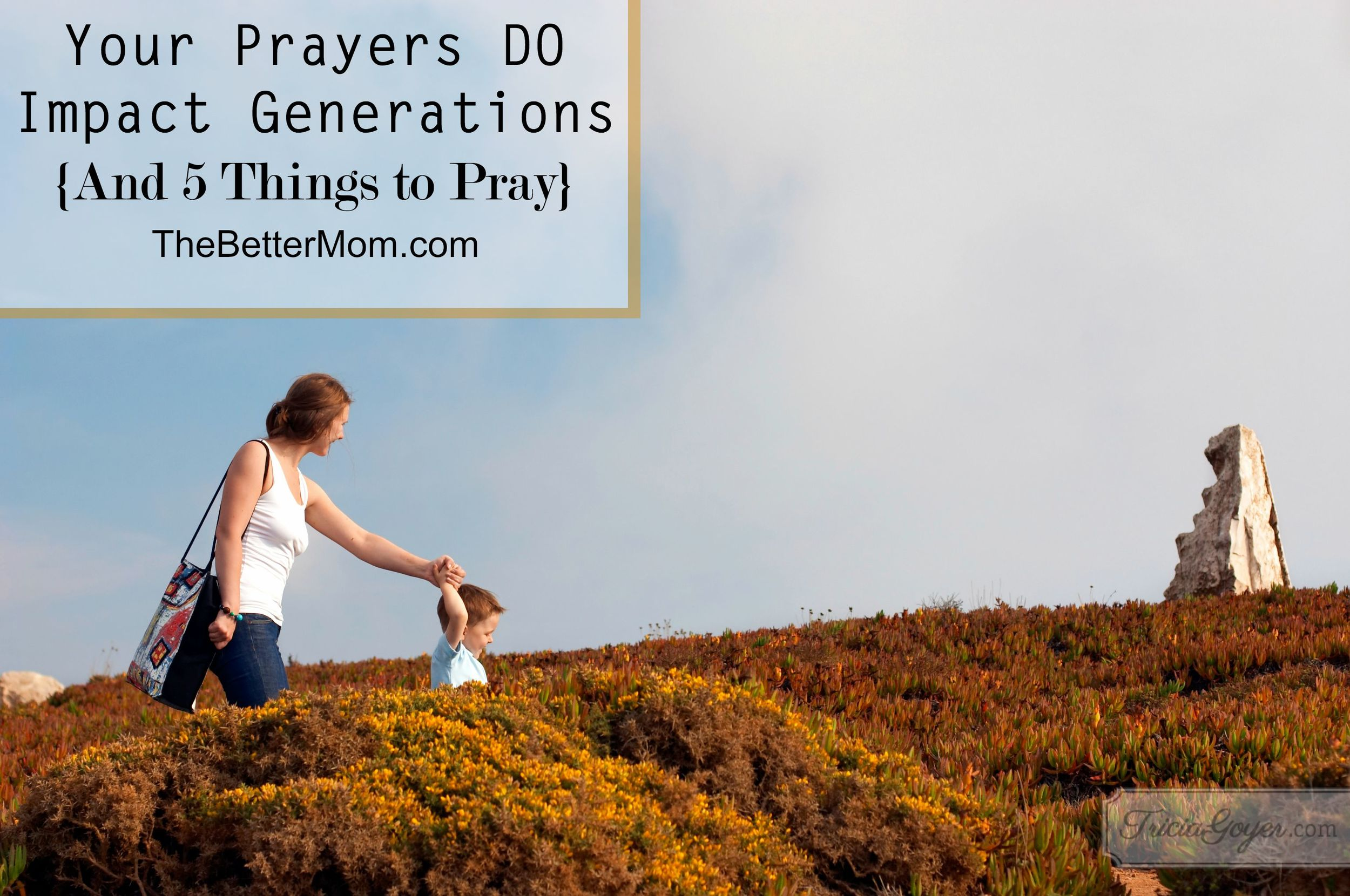 Do you know that your prayers matter? Do you truly believe that the words you utter before the throne of God impact your family for generations? Mothers, we can not be silent. Here's how to begin cultivating a lifetime of prayer (and a free printable to help you!)