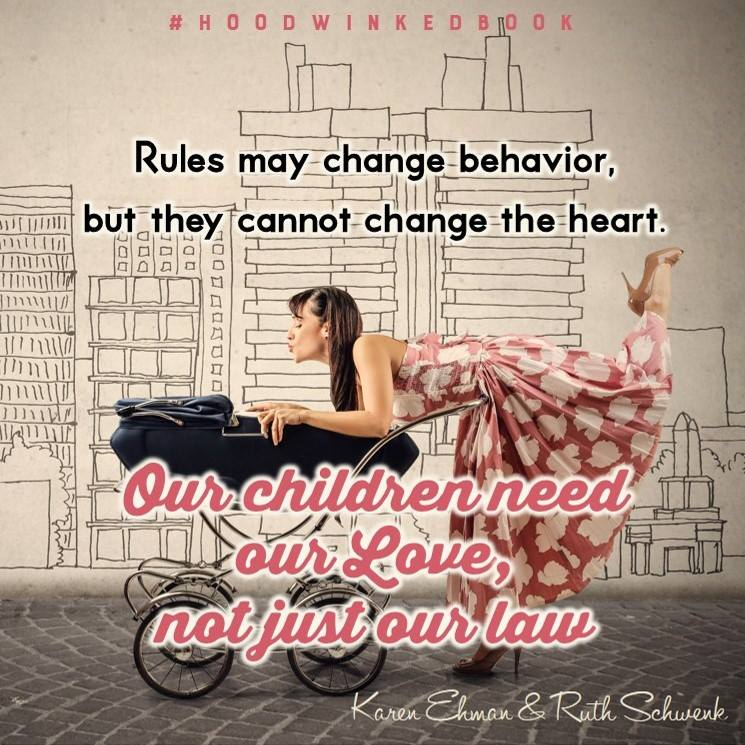 """Are you struggling to survive as a mom? Have the lies that our culture perpetuates about motherhood dragged you down? Well we need to knock it off! Lies such as """"I am my child's choices"""" tempt moms to mistakenly believe that if their child makes a wrong choice then they, in turn, must be a bad mom. Well it is time to stop believing those myths and start walking in the truth! Grab your copy of Hoodwinked today!"""