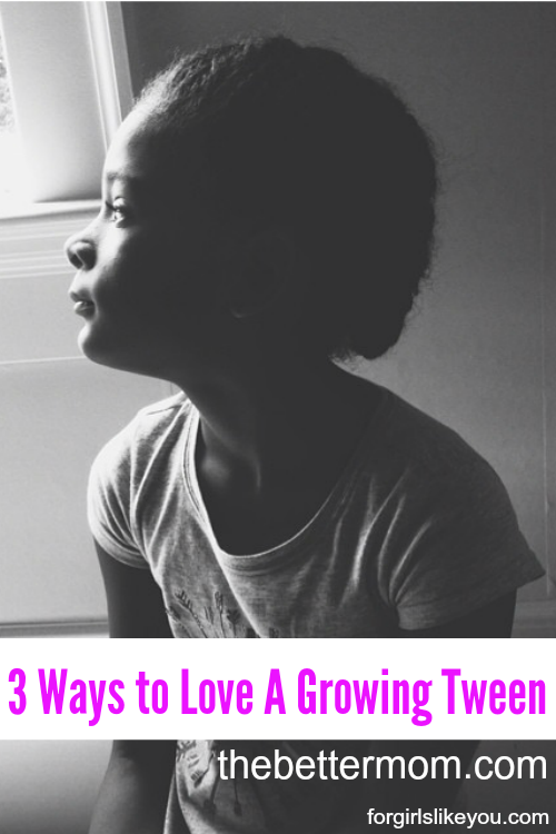 Do you have a tween at home? If so, then you are all too familiar with the ups and downs of emotions and circumstances that can catch you off guard everyday! Maybe in the midst, we can learn to see the true beauty unfolding and love our tweens the way God loves us- we're learning how together on the blog today.