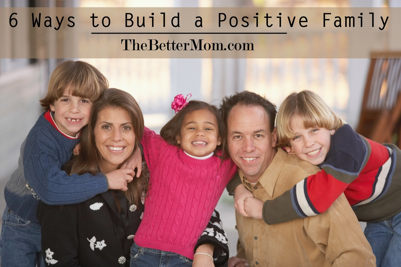 Do your kids struggle with negativity? Arguments? Bad attitudes? Breathing positivity into your home will carry over into every area of their lives! Here are six ways to build into your family today that are sure to turn things around.