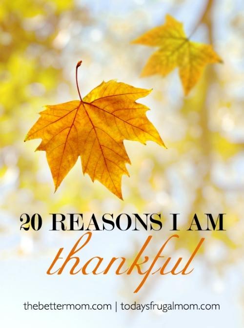Thanksgiving season is upon us and we're counting our blessings! What are you thankful for and how do you share it?