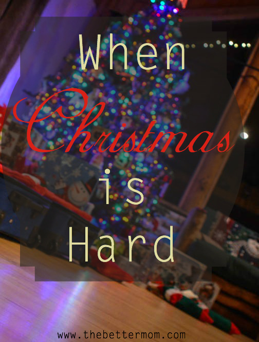 What do you do when Christmas is hard? When you're spread thin or grieving and merry making seems like the impossible? Encouragement is close, and Immanuel is drawing near!