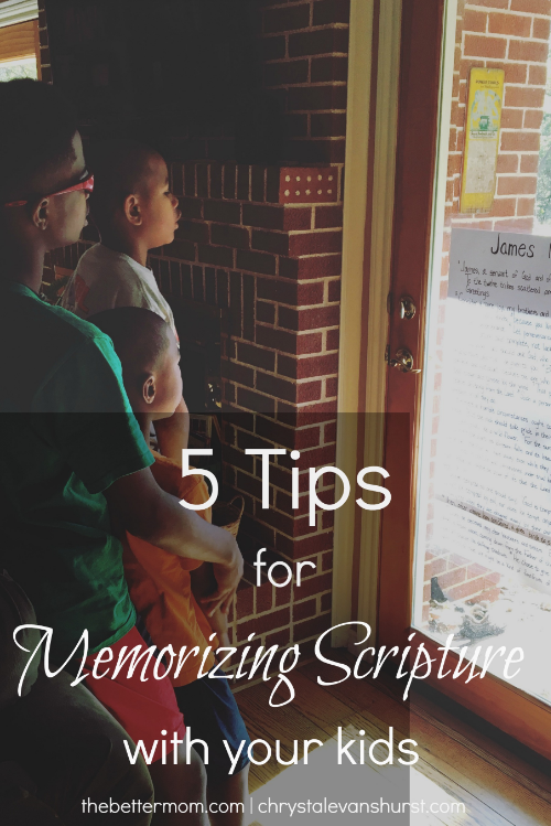 Do your children have God's word written upon their hearts? We all know how important it is to memorize scripture and hold it dear, but the reality of doing that can be a little rocky! Here are some great ideas for you and your children to memorize God's word and treasure it always.