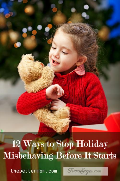 Do the holidays seem like an invitation for your children to misbehave? With all the sugar, all the buzz, and all the parties, the rhythms of their days require lots of communication and  clear expectations to help them sail through the season with peace. Here are our tips for helping your children thrive through this busy season.