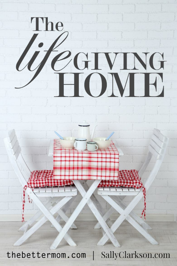 Do you long to have a life giving home, but often become overwhelmed and hung up by your own anger and frustration towards your family? We must realize that anger itself is a red flag- a giant warning- alerting us to something deeper beneath the surface that must be dealt with. Come and learn how to listen with your heart so that you can build your home to  be all God has envisioned for you.