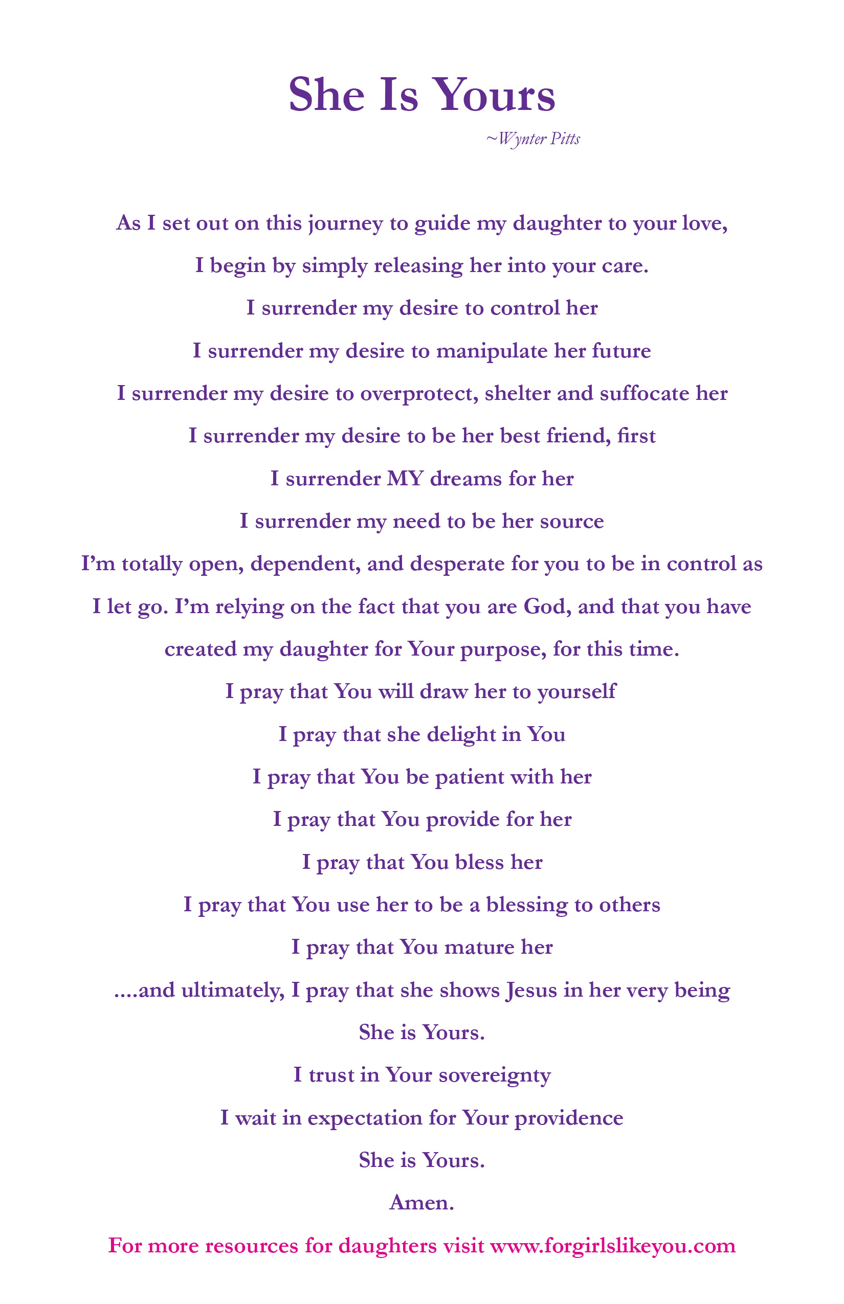 She is Yours Prayer.jpg