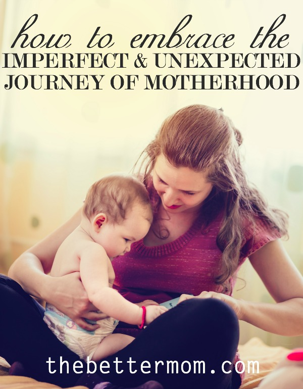 What did you think motherhood would be like? What did you think life would be like? If your reality differs from your expectations, it can be easy to become discontent or stuck in a cycle where you pursue perfection. Maybe today its time to embrace the mess and the beauty of what you have before you!