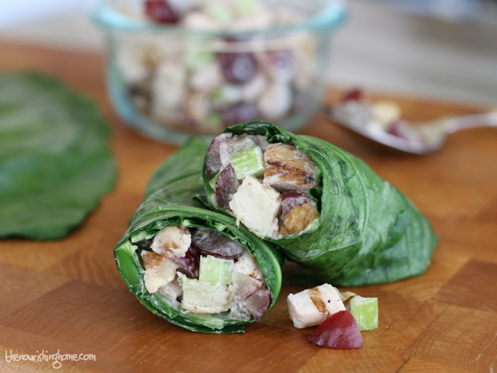 Looking for Healthier Lunch Options? This week's meal plan features this beautiful  Healthy Green wrap that not only tastes great, it also provides an extra boost of nutrition in every delicious bite!