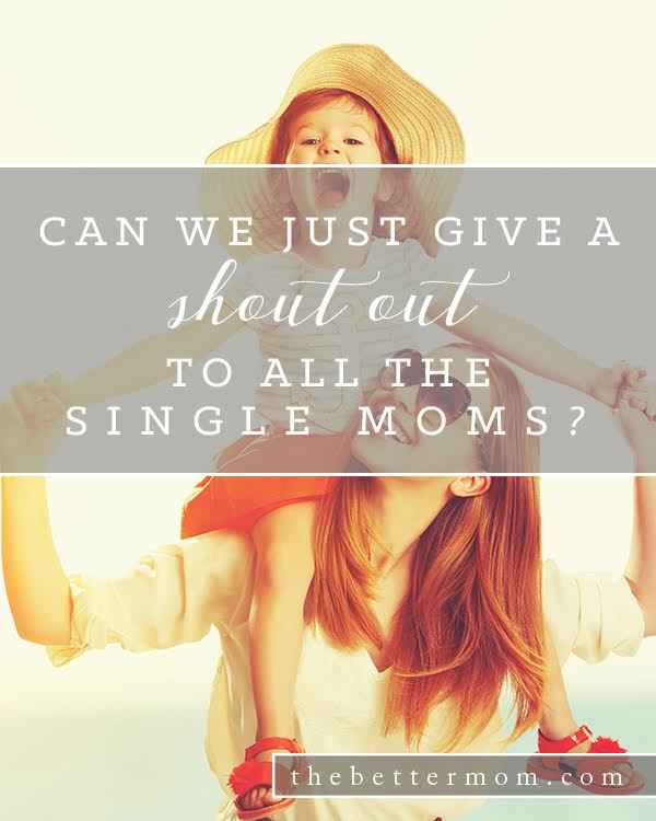 Are you a single mom? We want to cheer you on! For the rest of us, let's love the single moms in our midst. Here are some practical and purposeful ways to love on them and support them well.