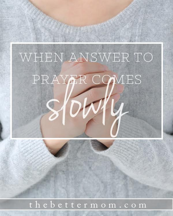 """We live in a Culture of instant gratification. It's easy to forget that sometimes we can not escape waiting. Can we still trust God when his answer is... """"Be still and wait?"""" Here's how to thrive and rest in the tension of being in between."""
