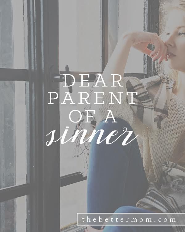 What's a mom to do when she realizes that her children are... sinners? When the glow of their halos fade and we see the desperate need for a Savior in our kids, it can hit us pretty hard in the gut. Here's how to respond, and experience the wonder of God's grace in these times.