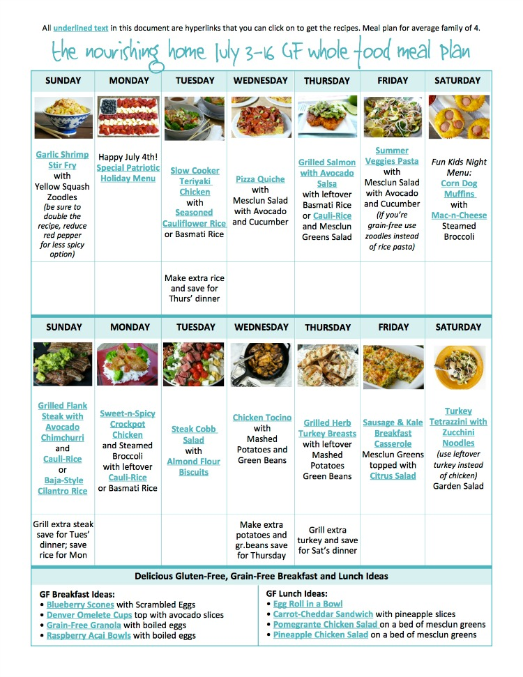 Have you tried our meal plans at The Better Mom?? They are packed full of healthy, whole food, delicious meals that your whole family will love! And....they are FREE!!