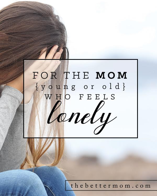 Are you living in social poverty? Are you familiar with loneliness? Too many of us are accustomed to living life as moms alone, burnt out and exhausted. Might today be the day to step out and let another mom know you need help?