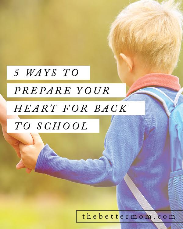 It seems too soon, but right now is the perfect time to prepare our hearts and our homes for back to school. Here are some great ideas you can implement now that will make this  fall's transition so much smoother for you and your children.