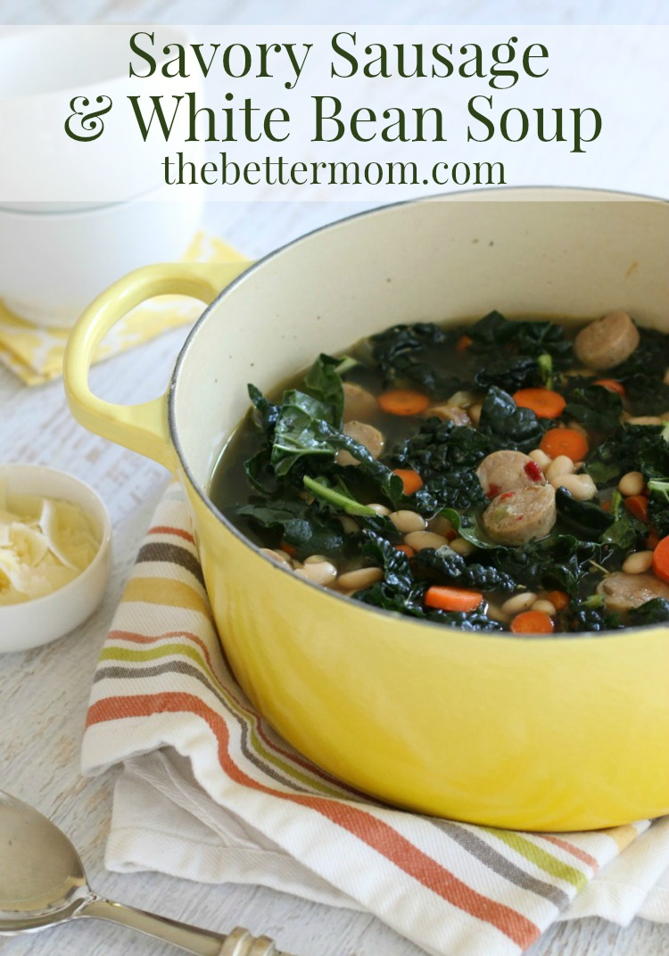 Fall is just around the corner, and in anticipation of those cool autumn evenings, I'm sharing an incredibly flavorful and easy to make soup perfect for warming hearts and tummies.