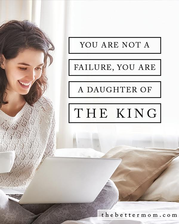 There are many temptations in our world to fall into the trap of believing the lie that we are a failure. As wives, we struggle to compare our marriages to other's marriages, or to what we see portrayed in social media, movies, and in books. As moms, we are tempted to compare how good of mom we are. But the truth is, you are God's child, a daughter of the King. And He has the power to help you overcome any temptation, any obstacle, anything that is overwhelming. All you have to do is ask....