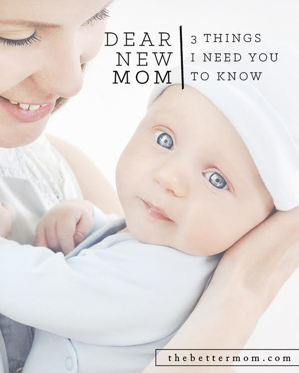Becoming a mother is one of the most intimate and exciting gifts that I have ever known. It is an honor when the Lord entrusts you to nurture and care for another precious human life that He has created. But the truth is there are some things that we all need to know and be reminded of...